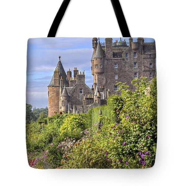 The Garden Of Glamis Castle Tote Bag