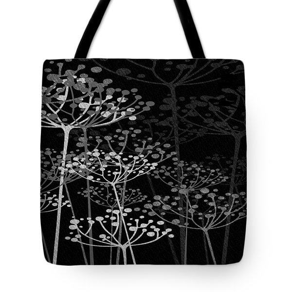 The Garden Of Your Mind Bw Tote Bag