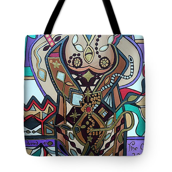 Tote Bag featuring the painting The Gardener by Barbara St Jean
