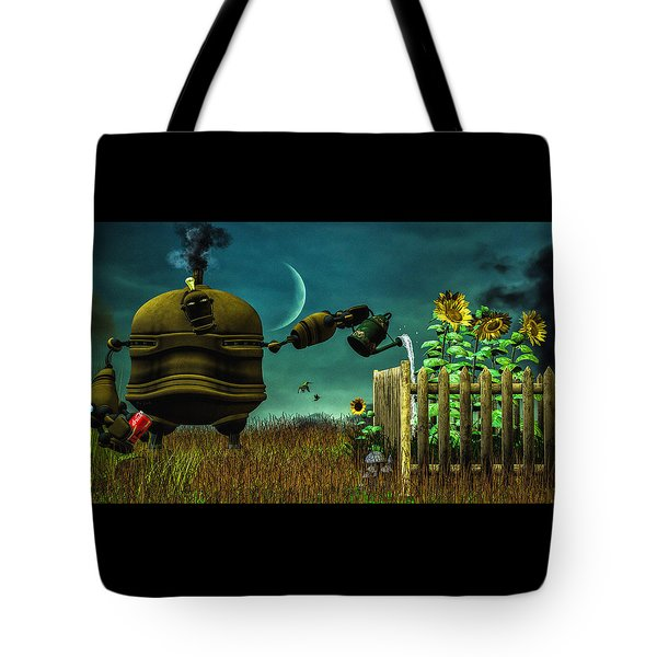 The Gardener Tote Bag by Bob Orsillo