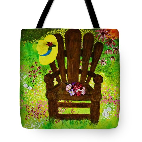 The Gardener's Chair Tote Bag