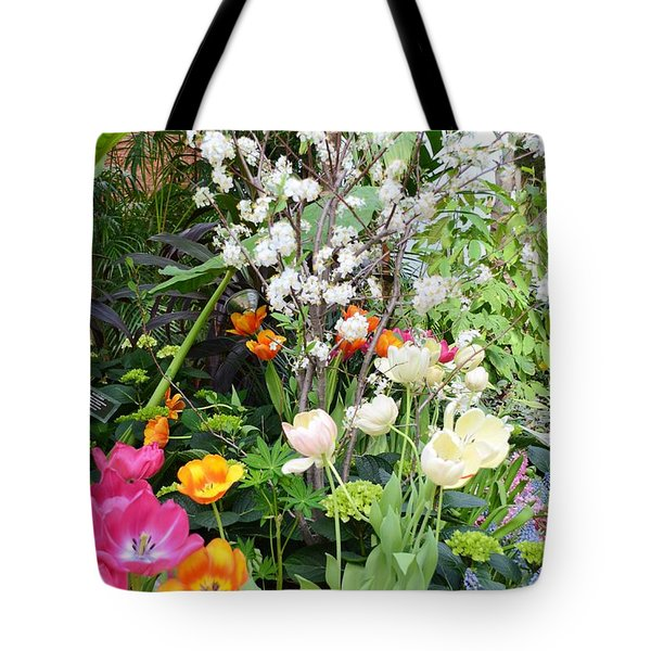 The Gardens Tote Bag by Kathleen Struckle