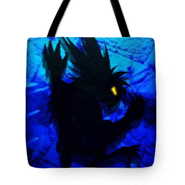 Tote Bag featuring the mixed media The Gargunny by Shawn Dall