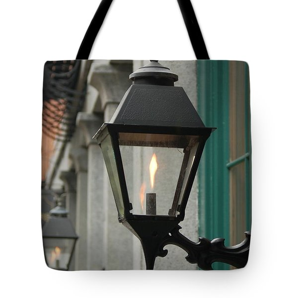 The Gas Light Tote Bag
