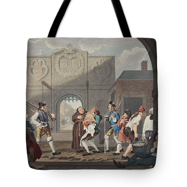 The Gate Of Calais, Or O The Roast Beef Tote Bag