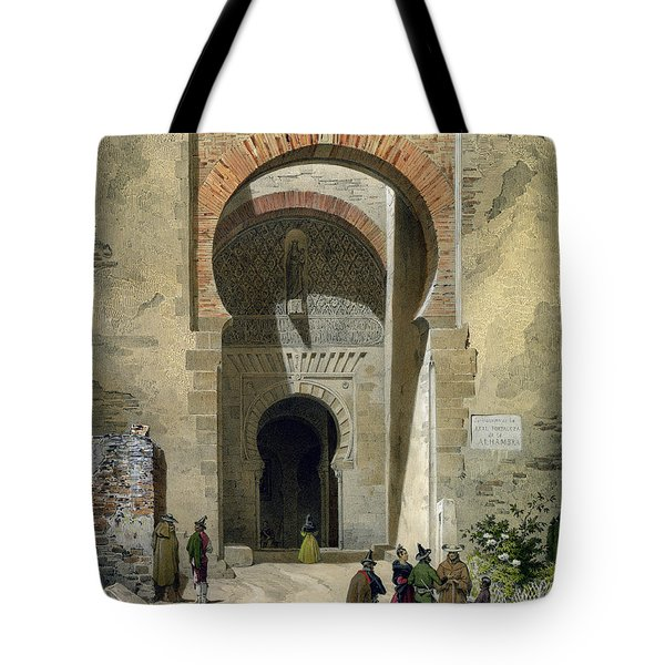 The Gate Of Justice Tote Bag