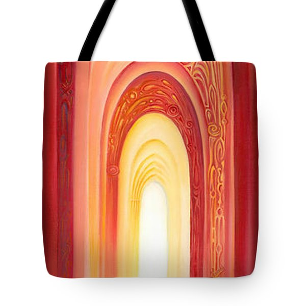 The Gate Of Light Tote Bag