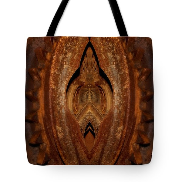 Tote Bag featuring the photograph The Gate by WB Johnston