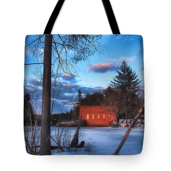 The Gatehouse Tote Bag by Joann Vitali