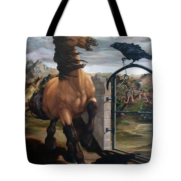 The Gatekeeper Tote Bag by Lisa Phillips Owens