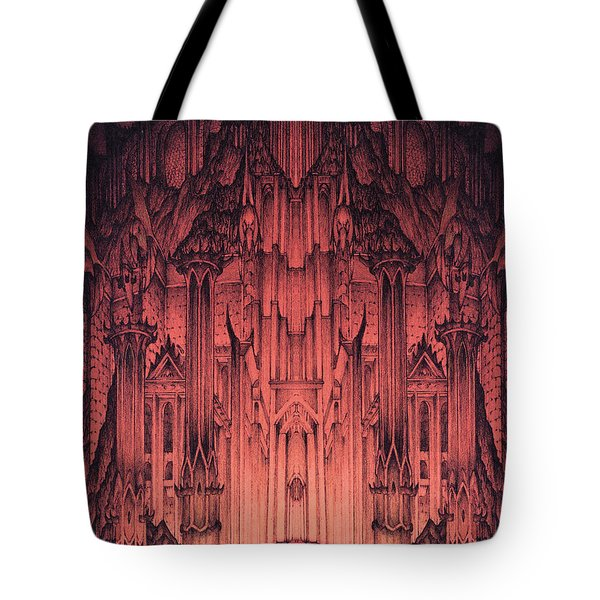 The Gates Of Barad Dur Tote Bag