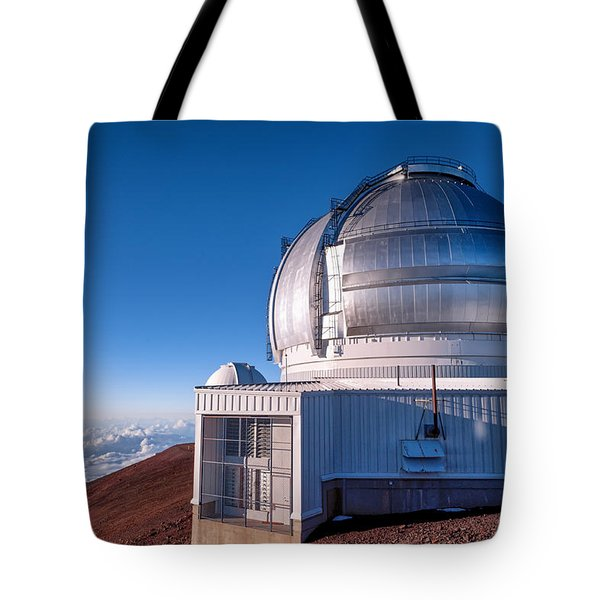 Tote Bag featuring the photograph The Gemini Observatory by Jim Thompson