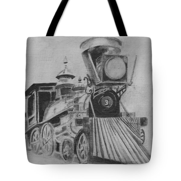 The General - Train - Big Shanty Kennesaw Ga Tote Bag