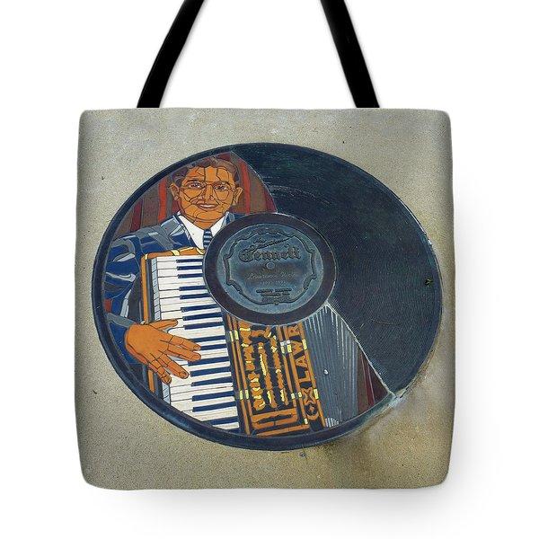 The Gennett Walk Of Fame - Lawrence Welk Tote Bag