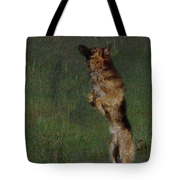 The German Shepherd Great Dog Tote Bag by Manjot Singh Sachdeva