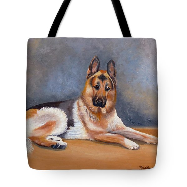 The German Sheppard Tote Bag