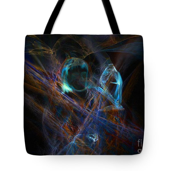 The Ghost Of Ancient Times Tote Bag by Lance Sheridan-Peel