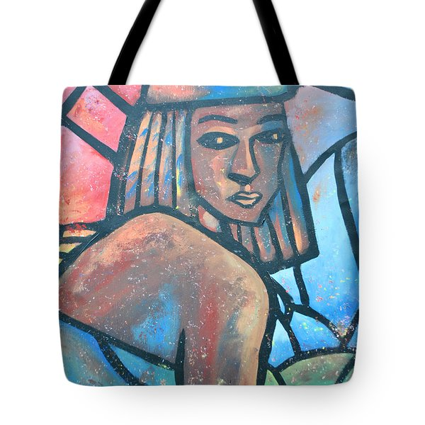 The Ghost Of Happiness Tote Bag by AC Williams