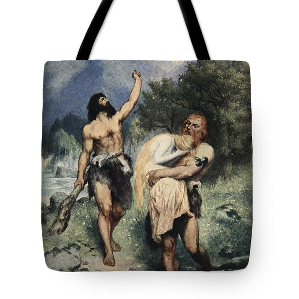 The Giants Bore Freia Away, From The Tote Bag by Ferdinand Leeke