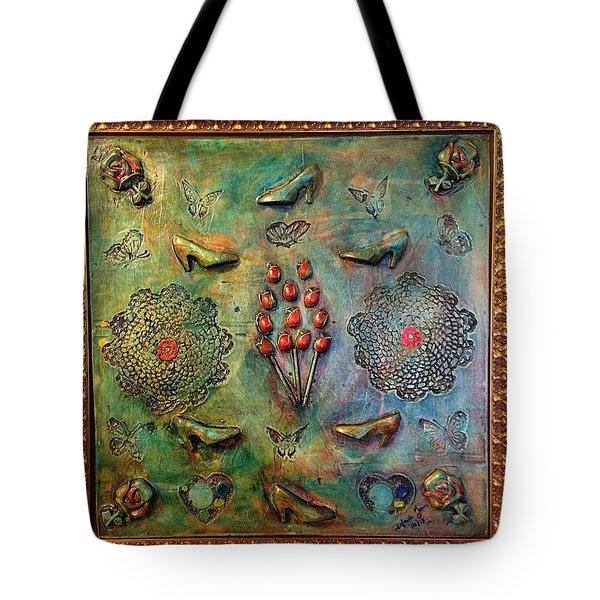 The Gift By Alfredo Garcia Art Tote Bag