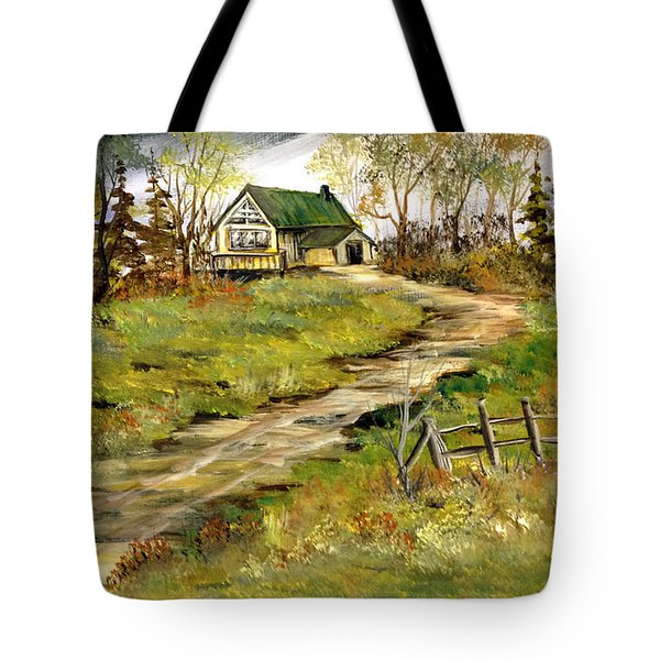 The Gilbert's House Tote Bag