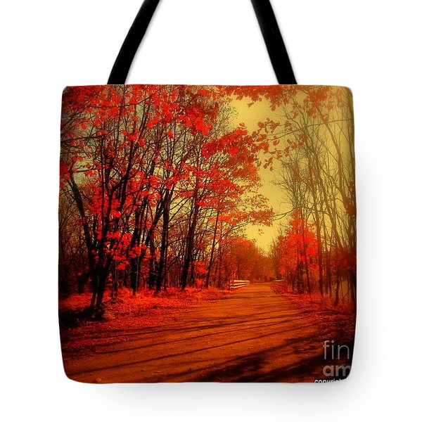 The Ginger Path Tote Bag