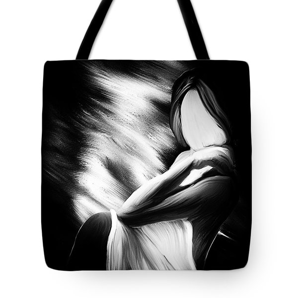 The Girl In My Room Tote Bag by Bob Orsillo