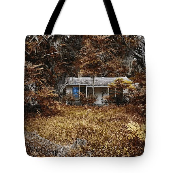 The Girl Left Behind Tote Bag by Skip Nall