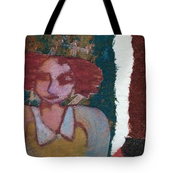 The Girl Waits Tote Bag by Catherine Redmayne