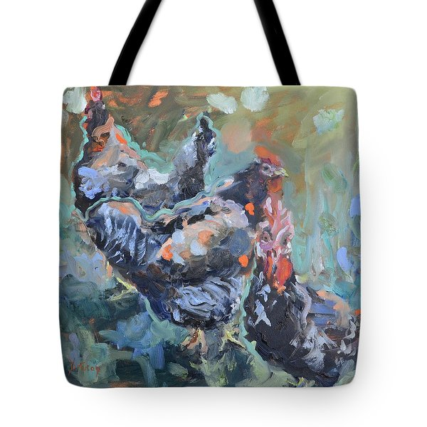 The Girls Of Green Hill Farm Tote Bag