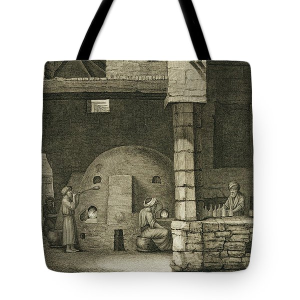 The Glass Bottle Maker, From Volume II Tote Bag