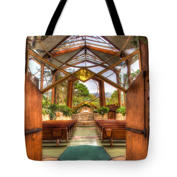 The Glass Church Tote Bag