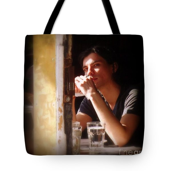 The Glass Of Water Tote Bag by Miriam Danar