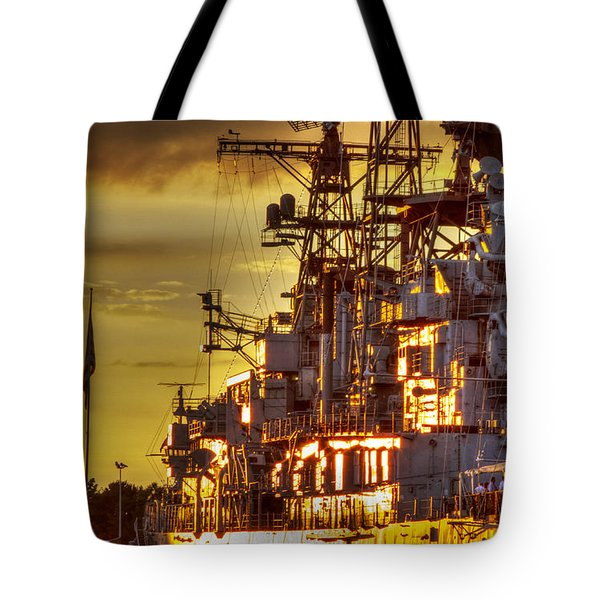 The Glory Days -  Uss Sullivans Tote Bag