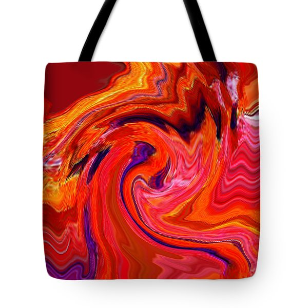 The Glory Of A Sunrise  Tote Bag by RjFxx at beautifullart com