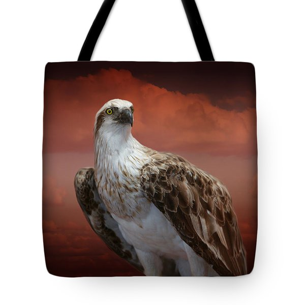 The Glory Of An Eagle Tote Bag by Holly Kempe