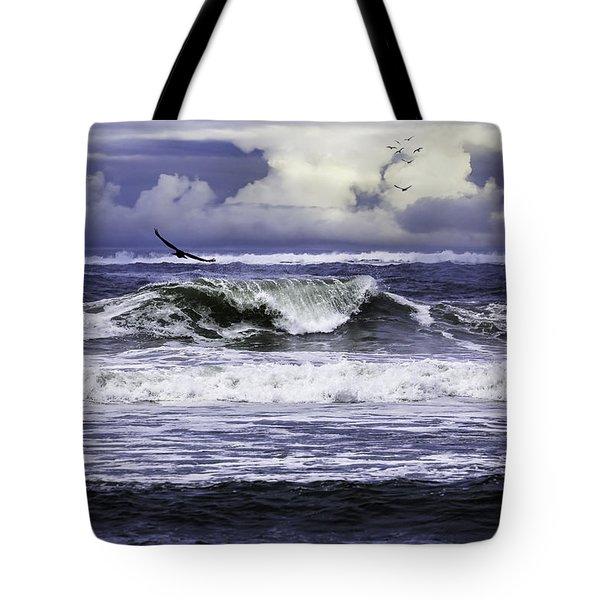 The Glory Of Morning On The Oregon Coast Tote Bag