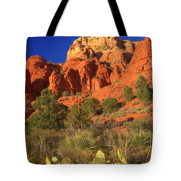 The Glory Of The Desert Red Rocks 1 Tote Bag