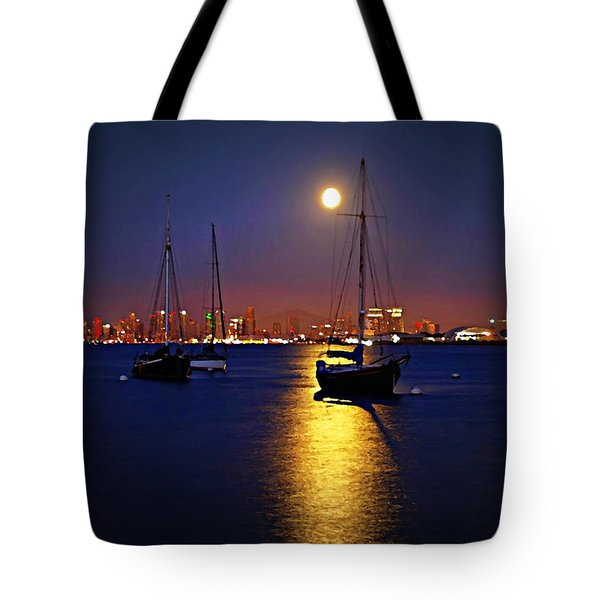 The Glory Of The Heavenly Bodies Tote Bag by Sharon Soberon