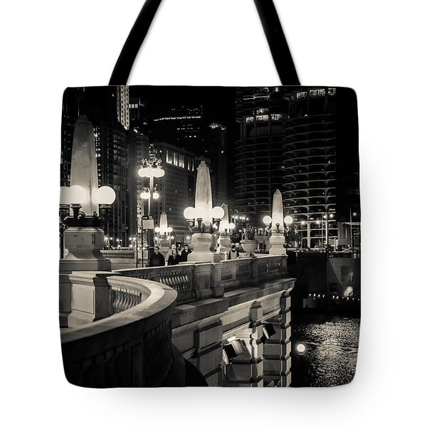 The Glow Over The River Tote Bag