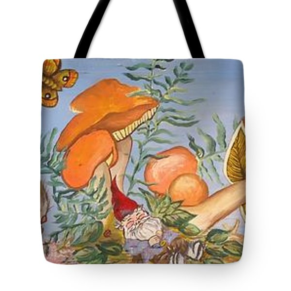 The Gnome Garden Tote Bag