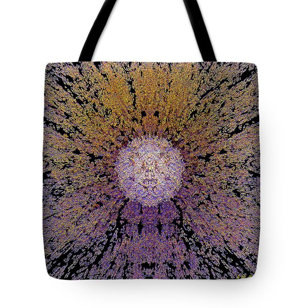 The God Particle Tote Bag by Michael Durst