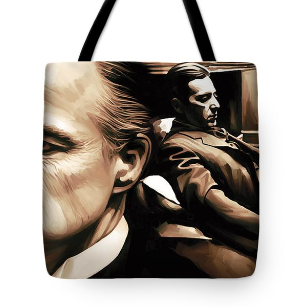 The Godfather Artwork Tote Bag