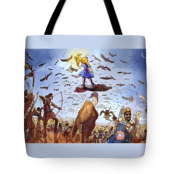 The Golden Bird Tote Bag by Reynold Jay