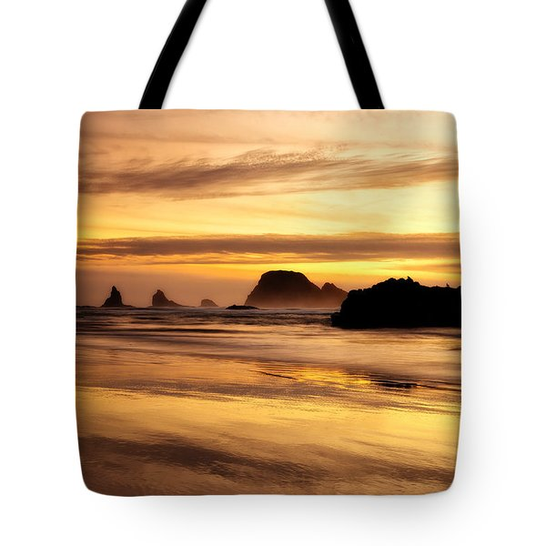 The Golden Coast Tote Bag by Darren  White