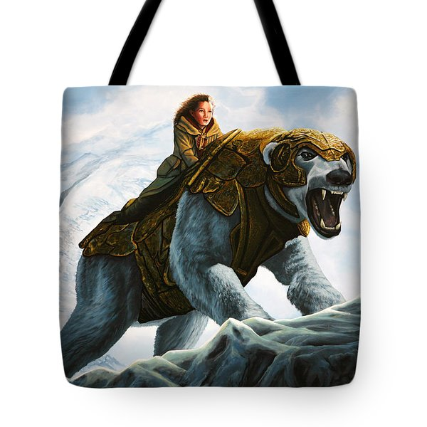 The Golden Compass  Tote Bag