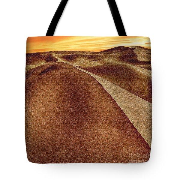 The Golden Hour Anza Borrego Desert Tote Bag by Bob and Nadine Johnston