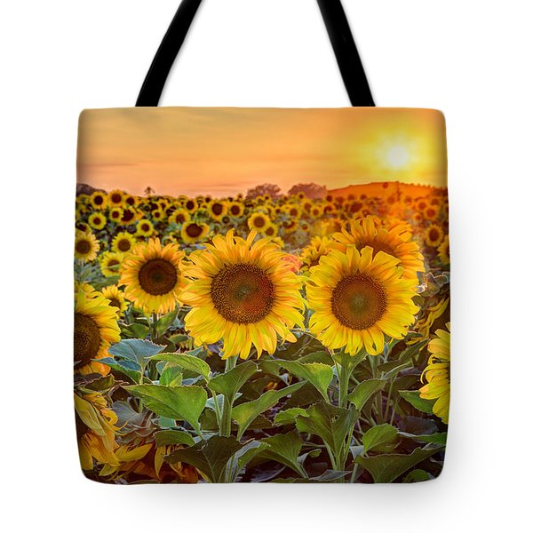 The Golden Hour Tote Bag by Jill Van Doren Rolo