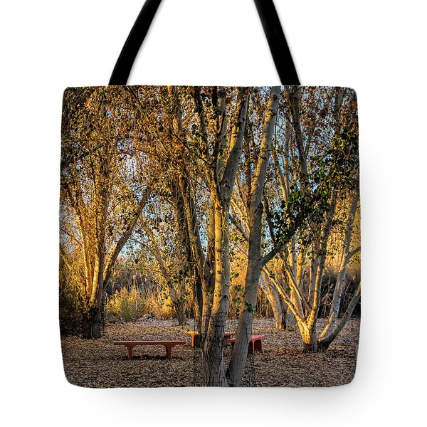 The Golden Hour Tote Bag by Tammy Espino