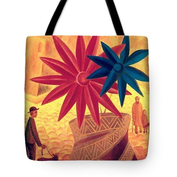 The Golden Jar Tote Bag